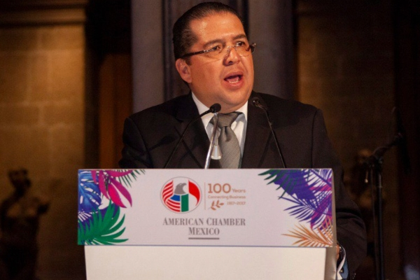 Jorge Torres, presidente de Amcham, sobre la inversión entre México y Estados Unidos