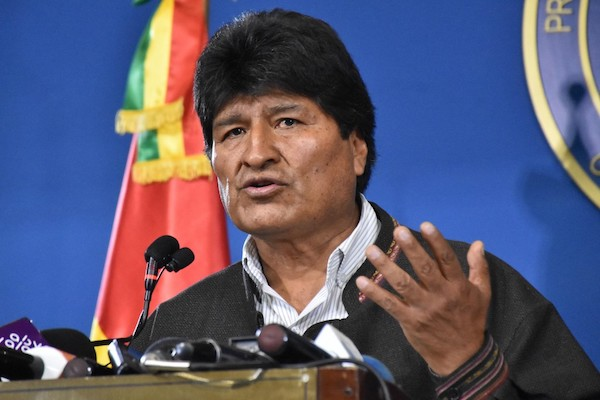 BOLIVIA-CRISIS-ELECTION-RESULT-MORALES
