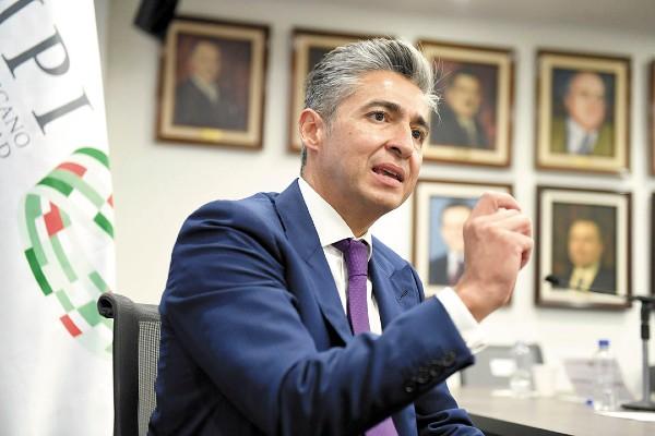 JUAN LOZANO, DIRECTOR GENERAL DEL IMPI. FOTO: LESLIE PÉREZ