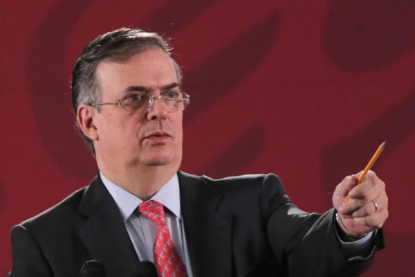 El Secretario de Relaciones Exteriores (SRE), Marcelo Ebrard. Foto: Presidencia