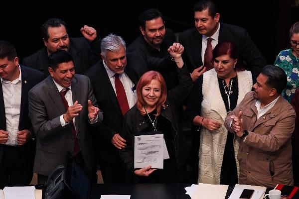 Rosario Piedra Ibarra tomó protesta como nueva titular de la CNDH FOTO: GALO CAÑAS /CUARTOSCURO.COM