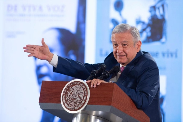 El presidente Andrés Manuel López Obrador habló del tema. Foto: Presidencia