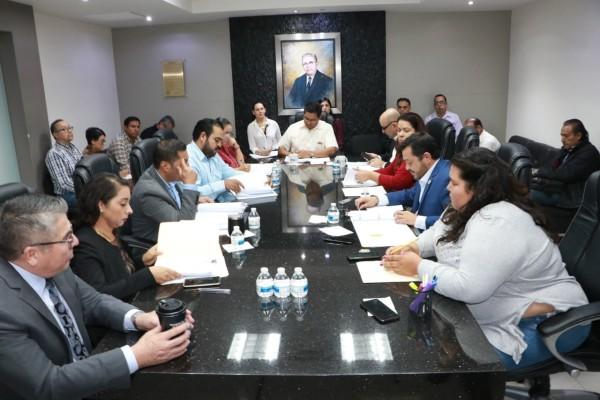 Comisión de Gobernación, Legislación y Puntos Constitucionales (Cglpc) del Congreso de Baja California. Foto: Especial
