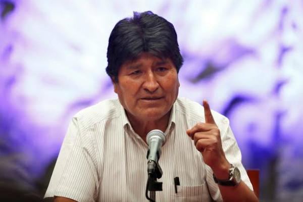 Evo Morales, expresidente de Bolivia. Foto: Especial.