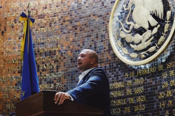 Primer Informe de Gobierno Enrique Alfaro. Foto: Cortesía
