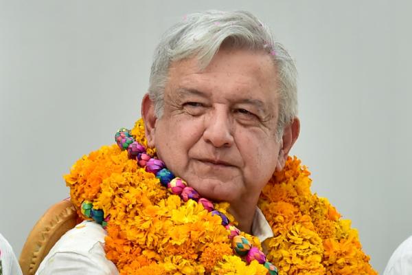 Andrés Manuel López Obrador, presidente de México, durante la realización el Diálogo con los Pueblos Mixteco,  Tlapaneco, Amuzgo y Náhuatl. Foto: Cuartoscuro