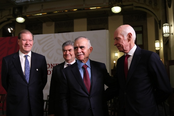 Luis Niño de Rivera presentó Plan Nacional de Infraestructura