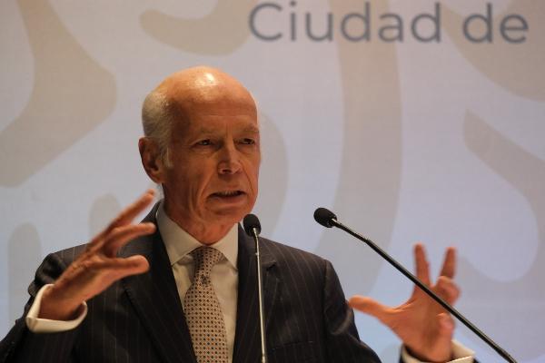 Luis Niño de Rivera, presidente de la Asociación de Bancos de México. FOTO: GRACIELA LÓPEZ /CUARTOSCURO.COM