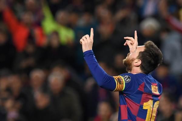 ESTRELLA. Messi volvió a brillar en la Champions League. Foto: AFP