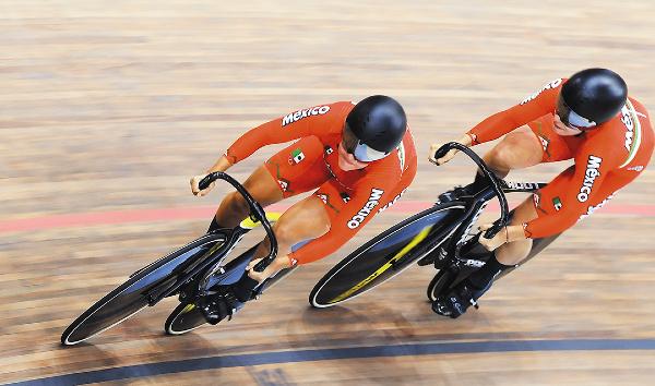 PEQUEÑOS DETALLES.  Ellas quieren ser contendientes a estar entre las primeras cinco en las pruebas de velocidad de Tokio 2020. Foto: Mexsport