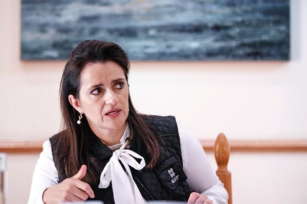 CAMBIO. La exfuncionaria fue electa ministra de la SCJN. Foto: Nayeli Cruz