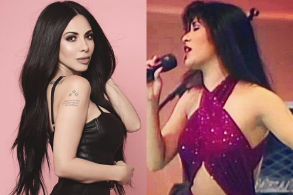 Jimena Sánchez hace homenaje a Selena y luce igualita: FOTO