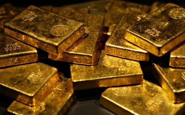Oro en la comida