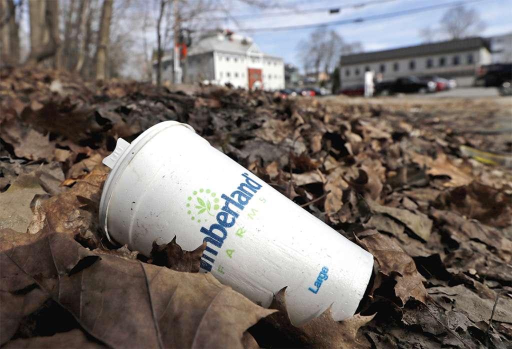 EL DAÑO. El gobierno  va contra los plásticos de un solo y de los envases desechables. Fotos: AP