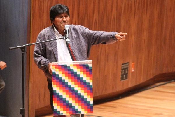 México brindó asilo político a Evo Morales después de su dimisión como presidente de Bolivia. FOTO: ROGELIO MORALES /CUARTOSCURO.COM