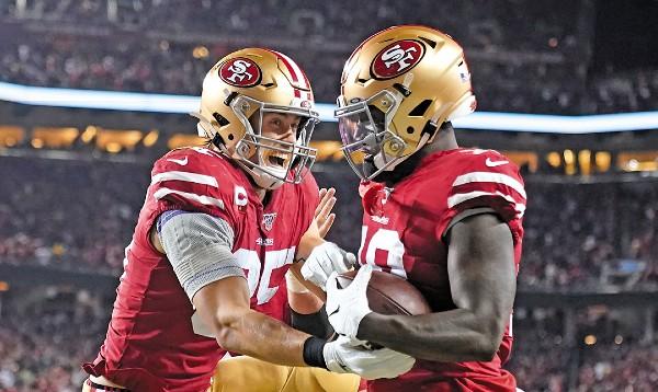 SÓLIDOS. El equipo de San Francisco es la segunda mejor defensiva de la NFL.  Foto: AP