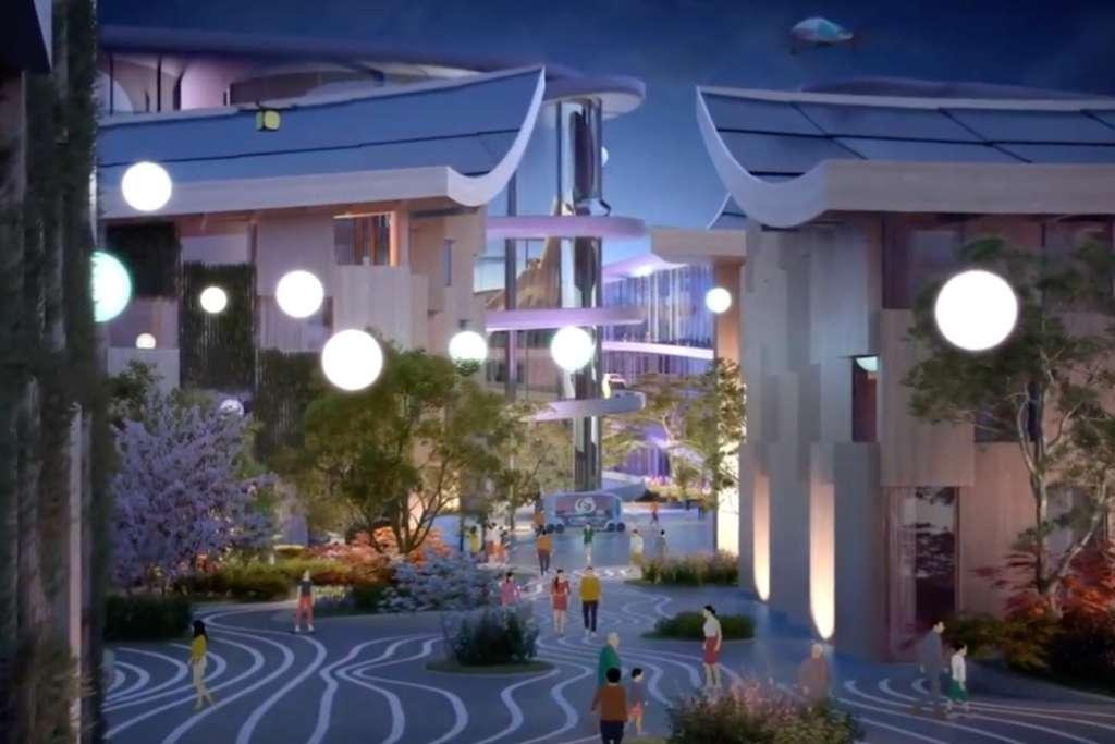 toyota-firma-japonesa-presento-su-proyecto-woven-city,-ciudad-del-futuro