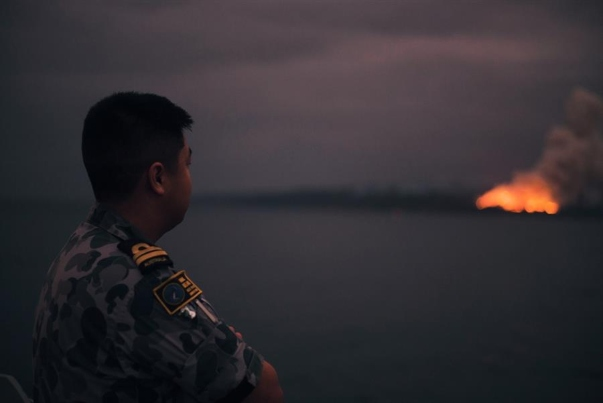 Incendios forestales en Australia llegan a Chile. FOTO: EFE