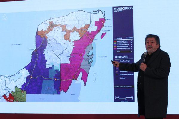 La construcción del Tren Maya estará lista en 2023. Foto: CUARTOSCURO