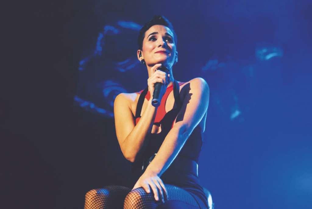 TRIBUTO. Robin Torres ha contado a distintos medios que, anteriormente, ella y los músicos tenían una banda tributo de los 80. Foto: Especial