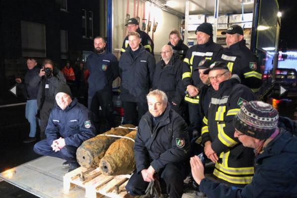 Dos bombas desactivadas en Alemania