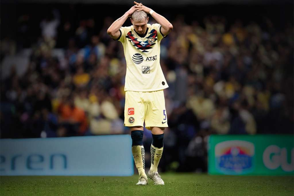 El pasado domingo, el argentino acudió a las instalaciones de Coapa para despedirse de sus compañeros. Foto: Mexsport / Liga MX / Especial