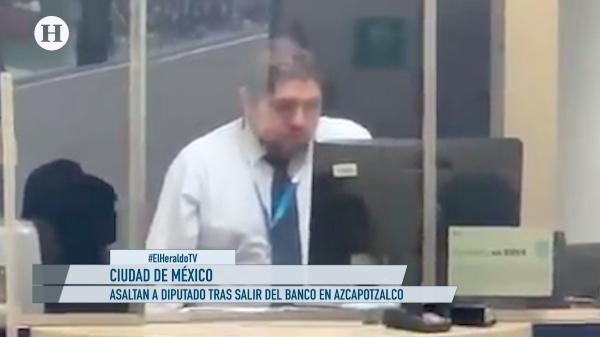 ¡Nadie se salva de la delincuencia! Diputado de Morena es asaltado tras salir de banco en Azcapotzalco