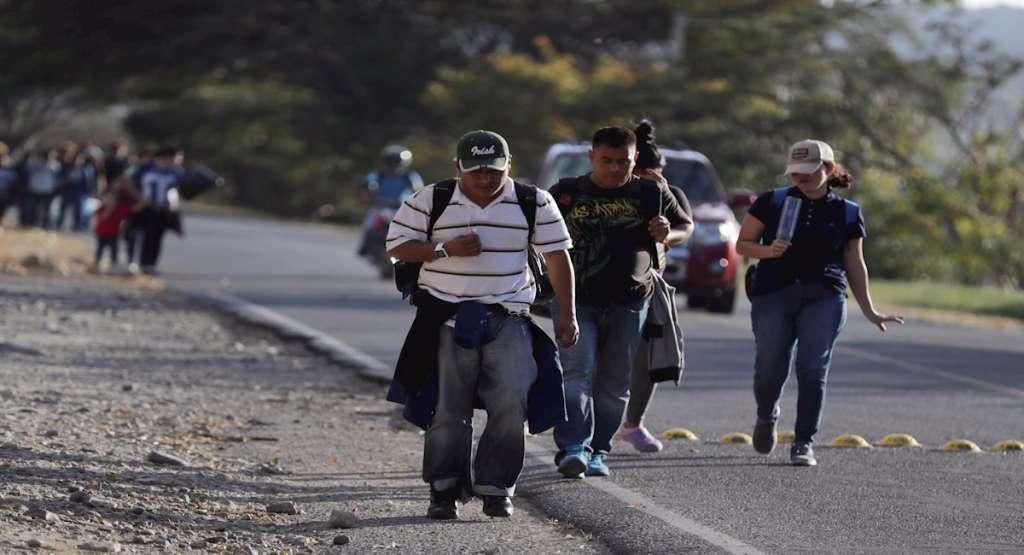 caravana_migrante_honduras_2020