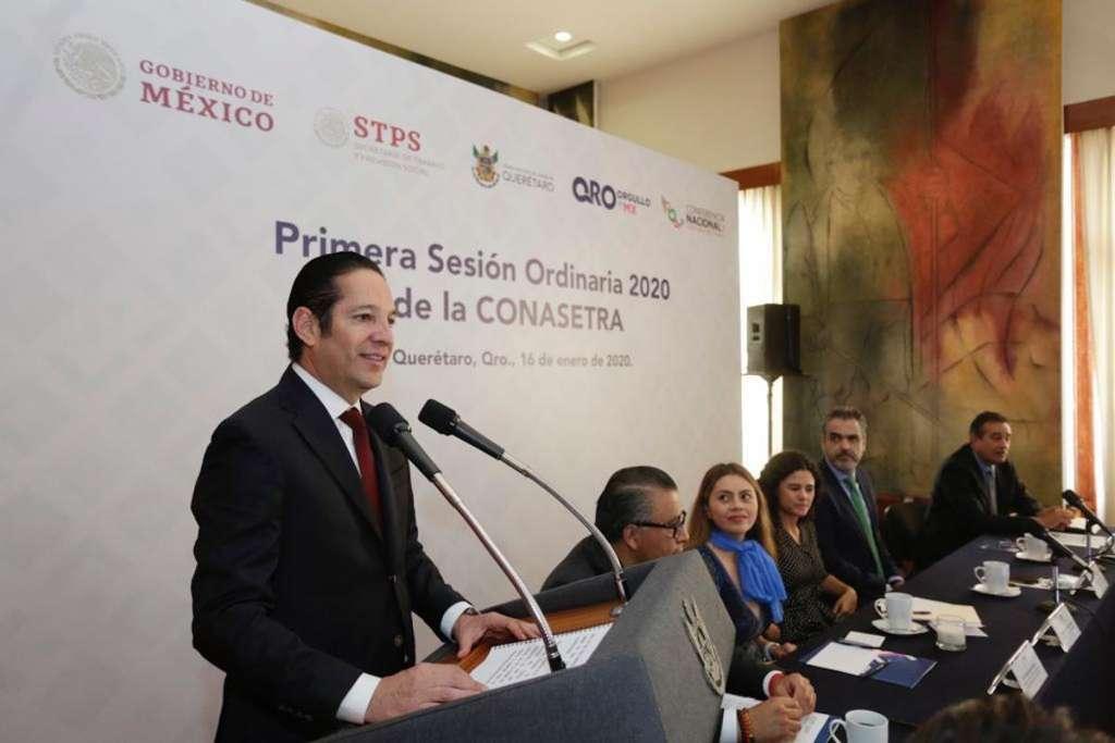 Reunión Conasetra Querétaro