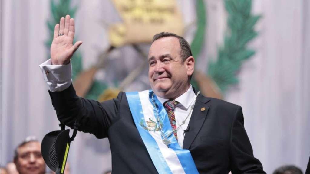 Alejandro Giammattei Guatemala Venezuela