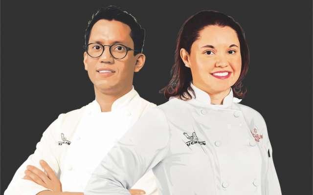 Sabor a México. Karime López e Indra Carrillo son dos mexicanos que, desde el extranjero, han conseguido consolidar sus restaurantes con uno de los máximos reconocimientos gastronómicos, la estrella Michelin. Ilustración: Francisco Lagos