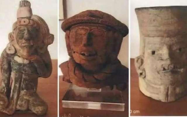 Recuperan piezas arqueológicas; subastas no paran