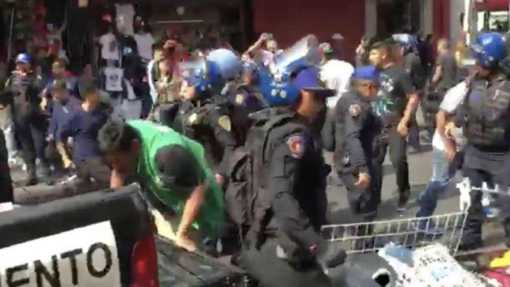 policias capitalinos comerciantes