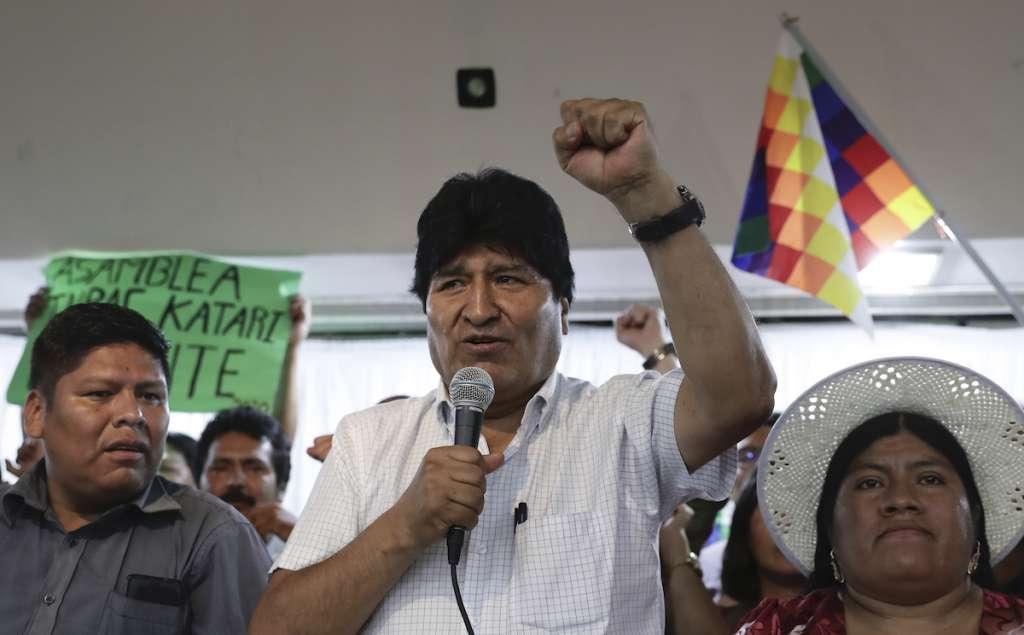 Evo Morales designa candidatos presidenciales Bolivia 2020