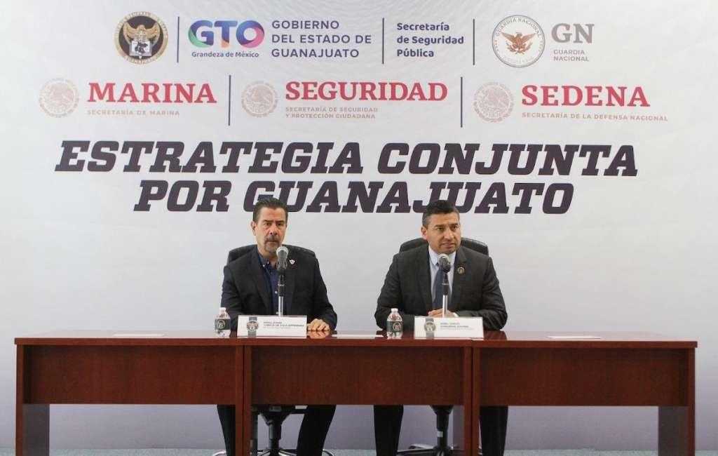 Resultados de operativos conjuntos en Guanajuato
