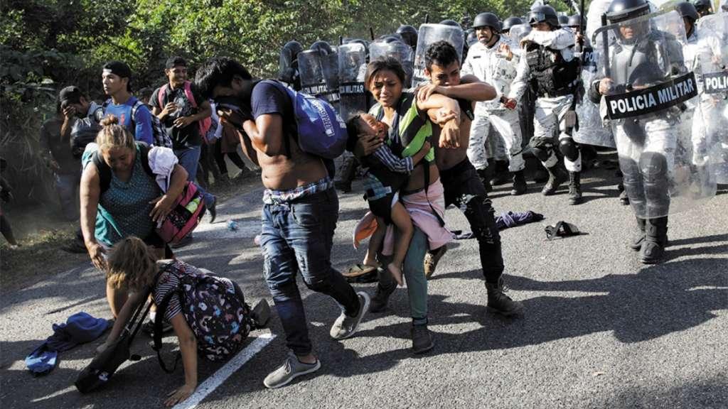 caminata migrante