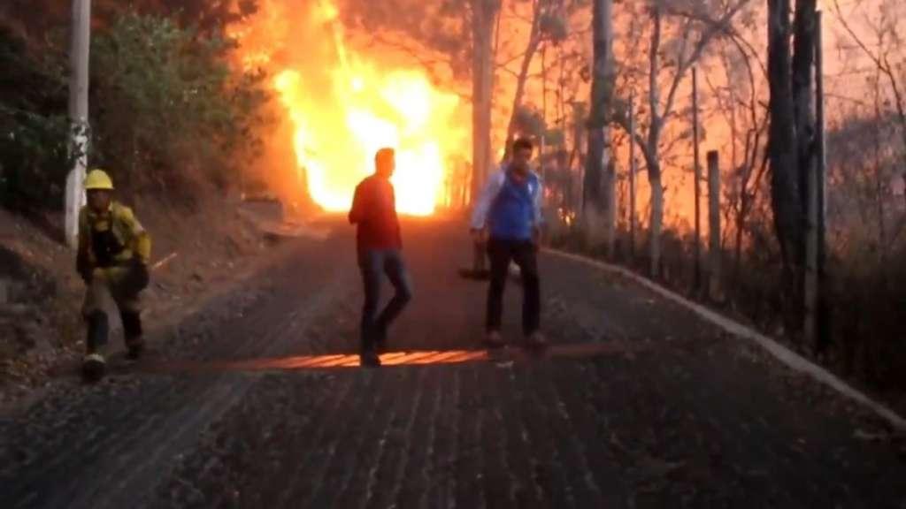 incendios forestales jalisco bomberos autoridades
