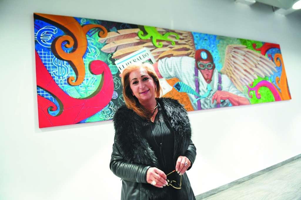 TRABAJO. Fue reconocida por el Sindicato de Artistas de Grecia por su promoción de la cultura griega alrededor del mundo. Foto: Leslie Pérez