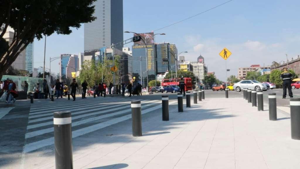 avenida hidalgo centro historico movilidad claudia sheinbaum