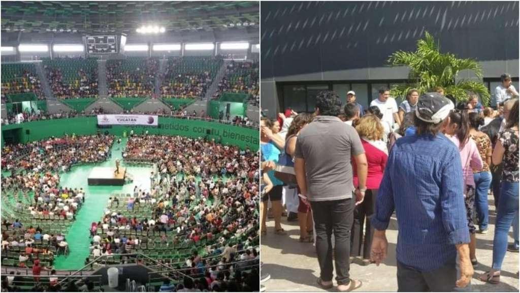 asamblea-yucatan-nuevo-partido-fuerza-social-mexico-poliforum-zamna-golpes-detenidos