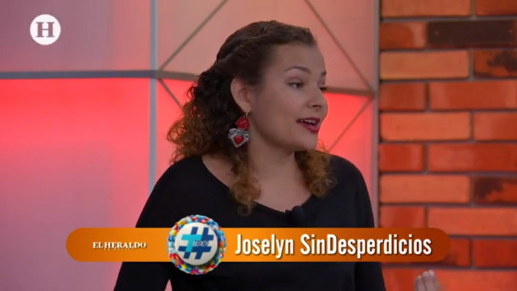 "Joselyn ""Sin desperdicios"" en Trend"