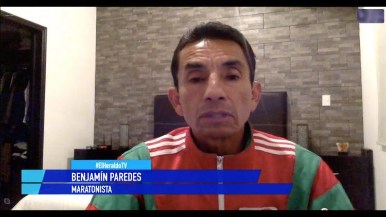 Benjamín Paredes maratonista