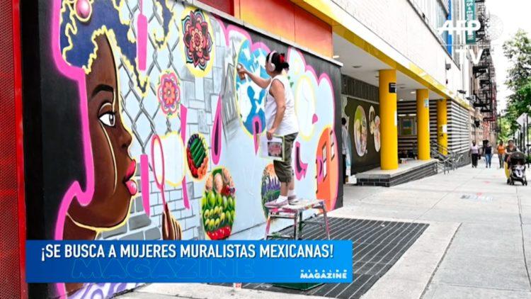 Muralistas mexicanas
