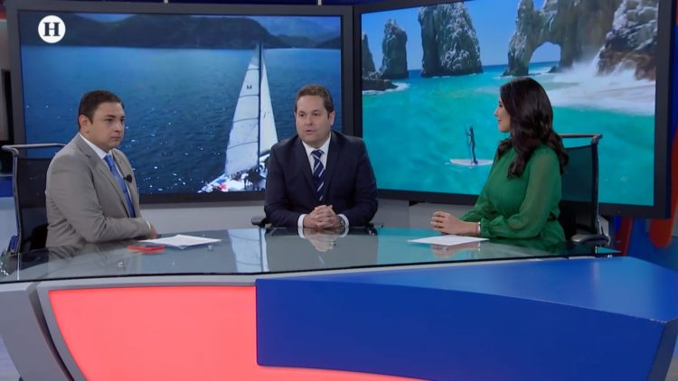Luis Humberto Araiza López Turismo Baja California El Heraldo TV