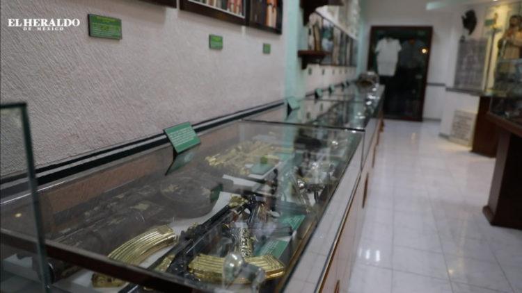 Narcotráfico Museo del enervantes armas joyas