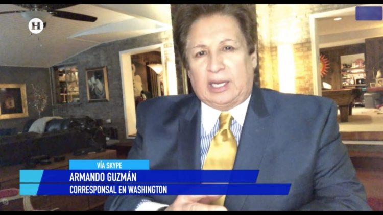 Armando Guzmán Donald Trump Noticias de la noche Salvador García Soto El Heraldo TV