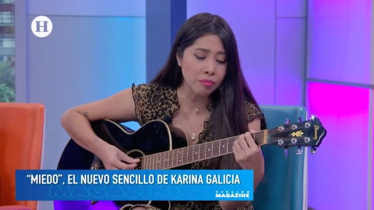 karina Galicia presenta Miedo