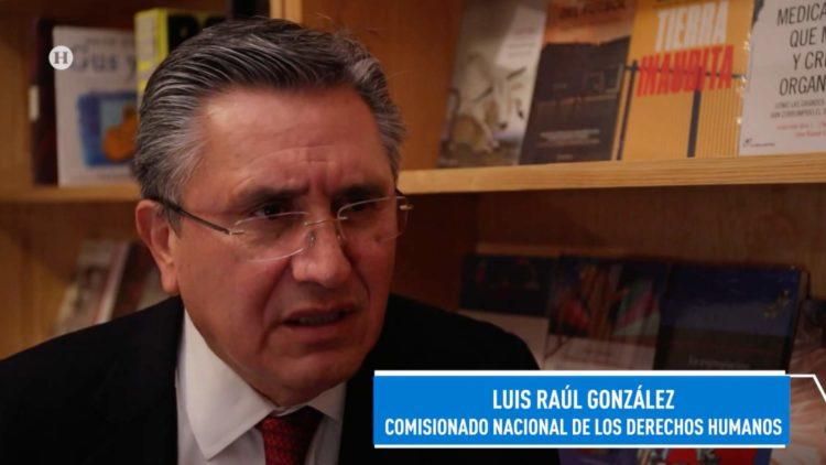 Luis González, titular de la CNDH