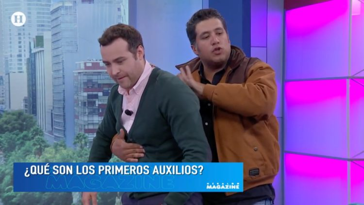 Rescatista Carlos Palacios te explica la importancia de saber dar los primeros auxilios