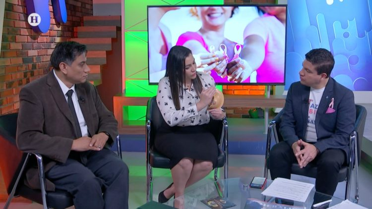 cáncer de mama Código Salud autoexploración Mariano Riva Palacio